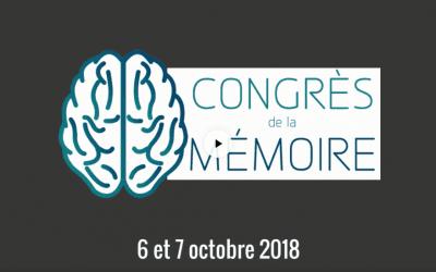 Congrès de la Mémoire 2018, venez !