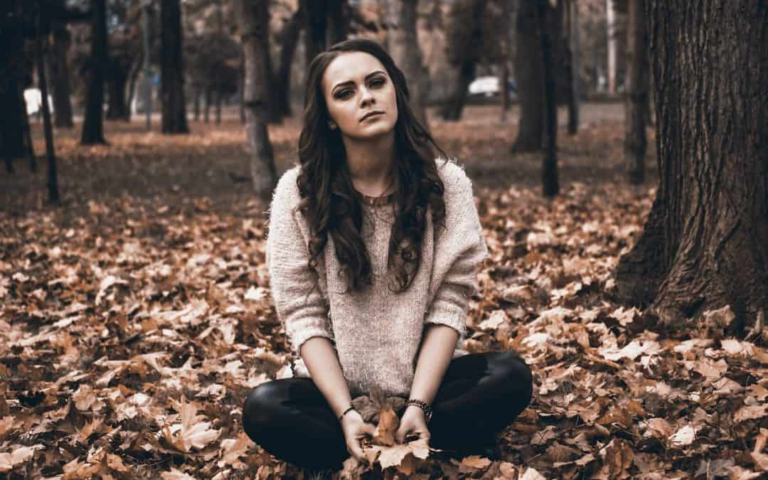 Emotion: une personne triste
