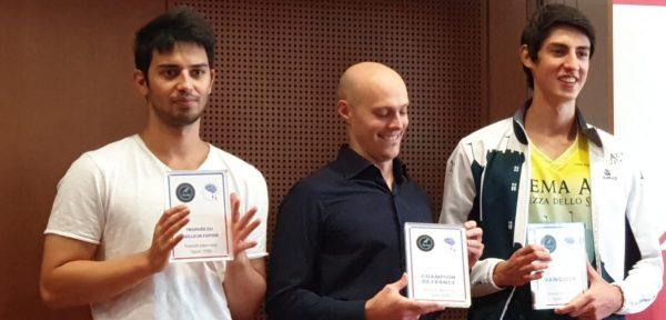 Trois lauréats du French Open Memory Championship