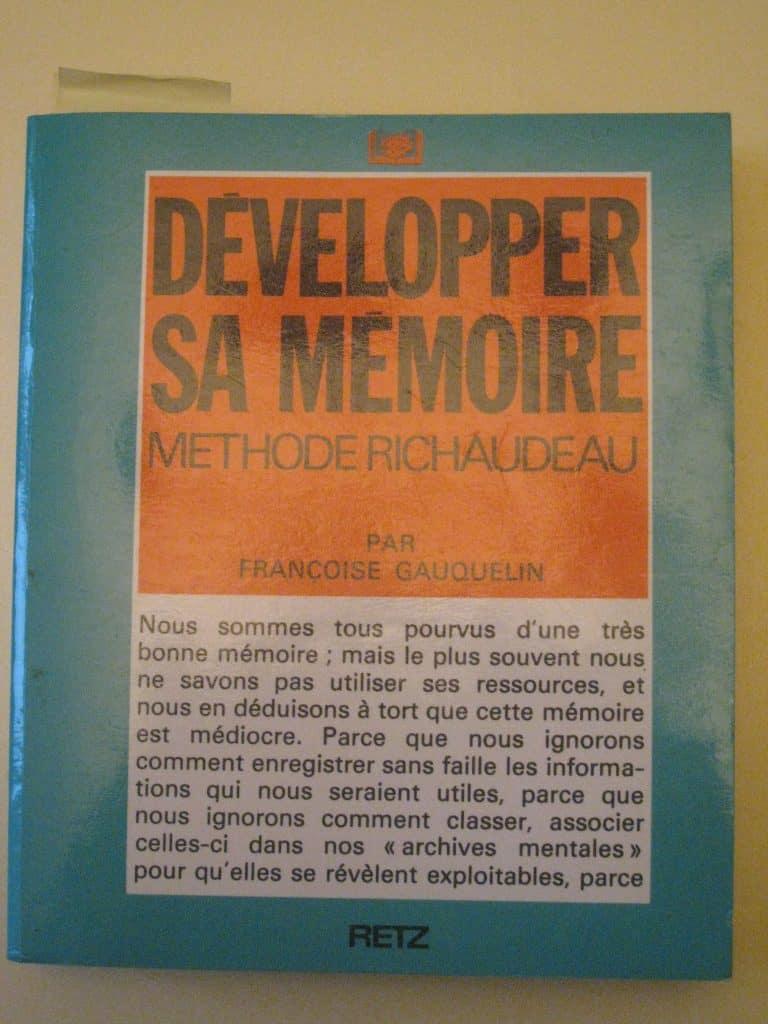 Livre: Développer sa mémoire (méthode Richaudeau) chez Retz