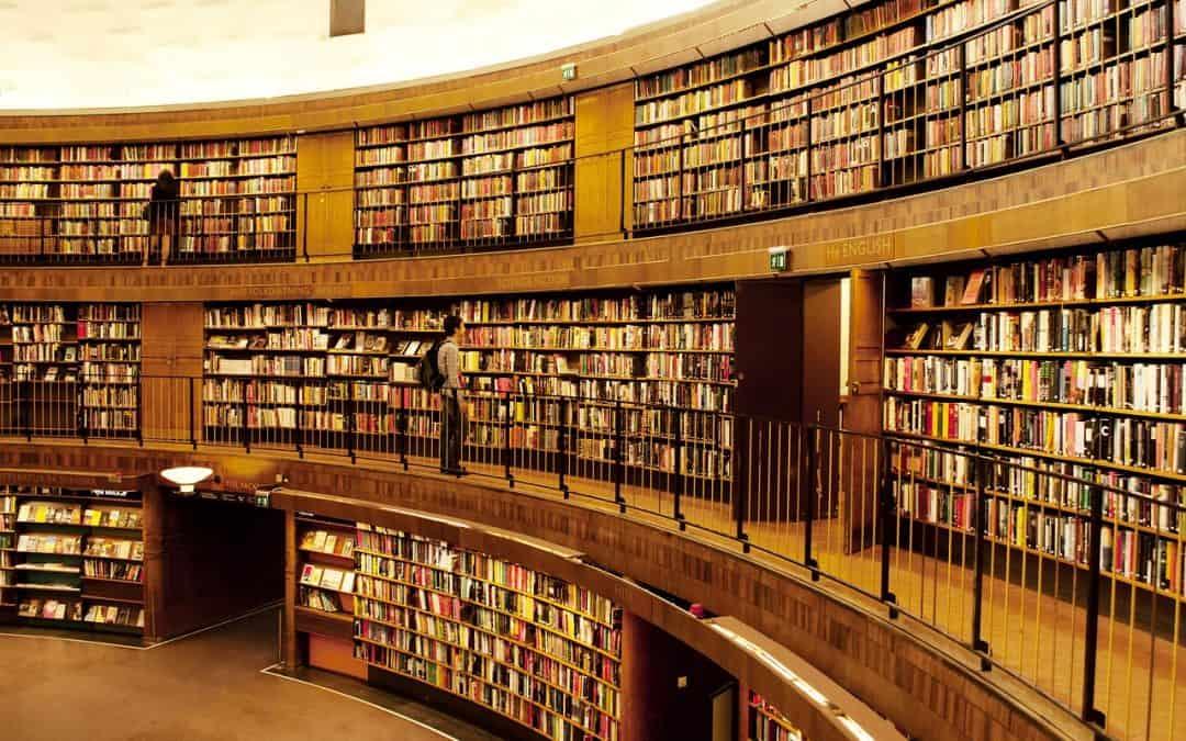 image d'une bibliothèque pour illustrer la notion de mémoire sémantique